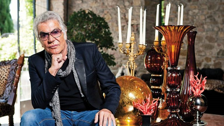 AT HOME WITH ROBERTO CAVALLI