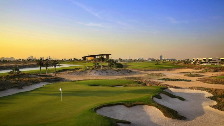 TRUMP SONS HAIL OPENING OF NEW DUBAI GOLF CORSE