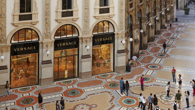 THE GALLERIA VERSACE BOUTIQUE – MILAN, ITALY | A BOUTIQUE IN THE HEART OF MILAN