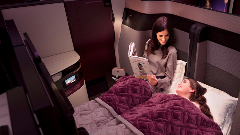 Qatar Airways unveiled its new Business Class 'QSuite' experience