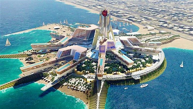 Mohammed bin Rashid launches new beachfront resort featuring MGM and Bellagio hotels