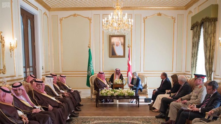 May and LSE chief woo Saudi ministers for $2tn Aramco listing