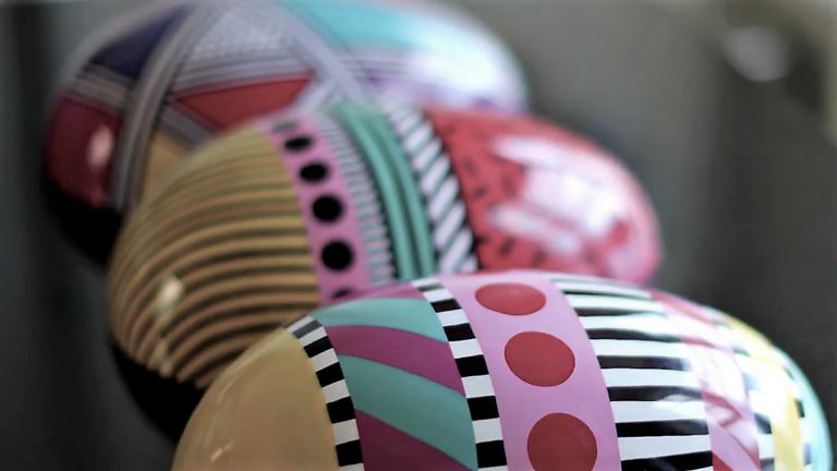 Easter at Harrods with Camille Walala
