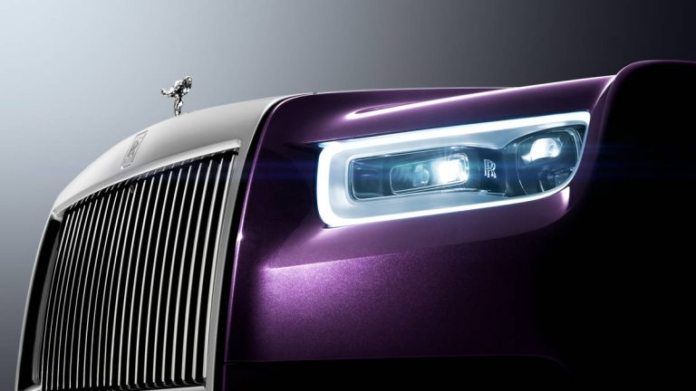 One of one. This is Phantom by Rolls-Royce
