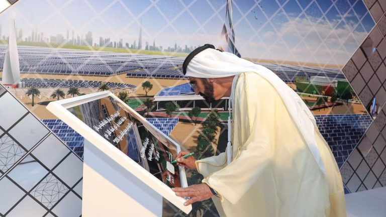 Mohammed bin Rashid announces largest Concentrated Solar Power project in the world