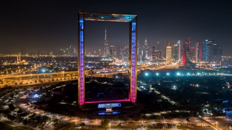 Dubai Frame opens to public from January 1.