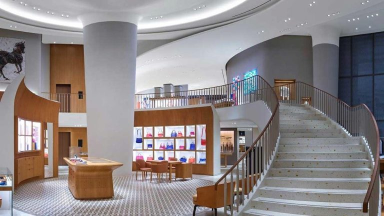 Hermes reveals new multi-storey shop in Dubai Mall