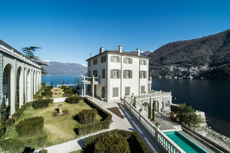 One-of-a-Kind Villa in Laglio, Como, Italy