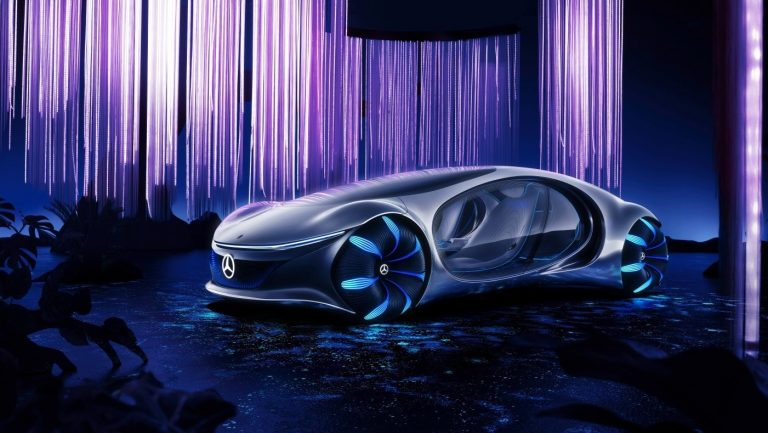 Mercedes-Benz Vision AVTR: Avatar-inspired Concept Car Revealed at CES 2020