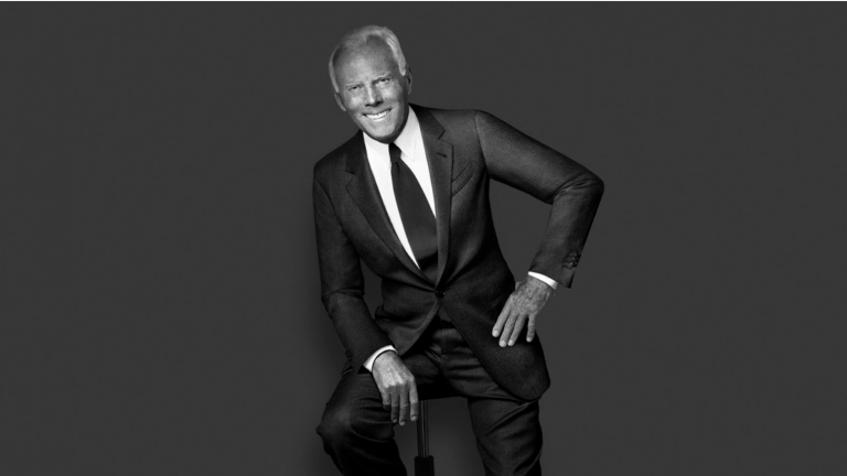 "GIORGIO ARMANI: ""WE ALL NEED TO STEP UP"""